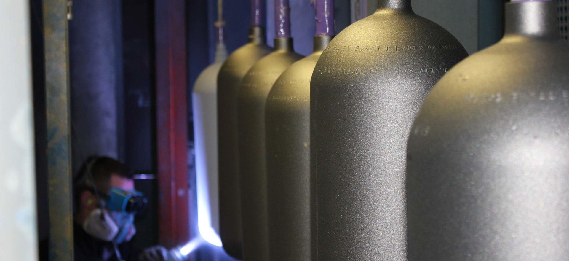 Zingage bouteille de plongée 6