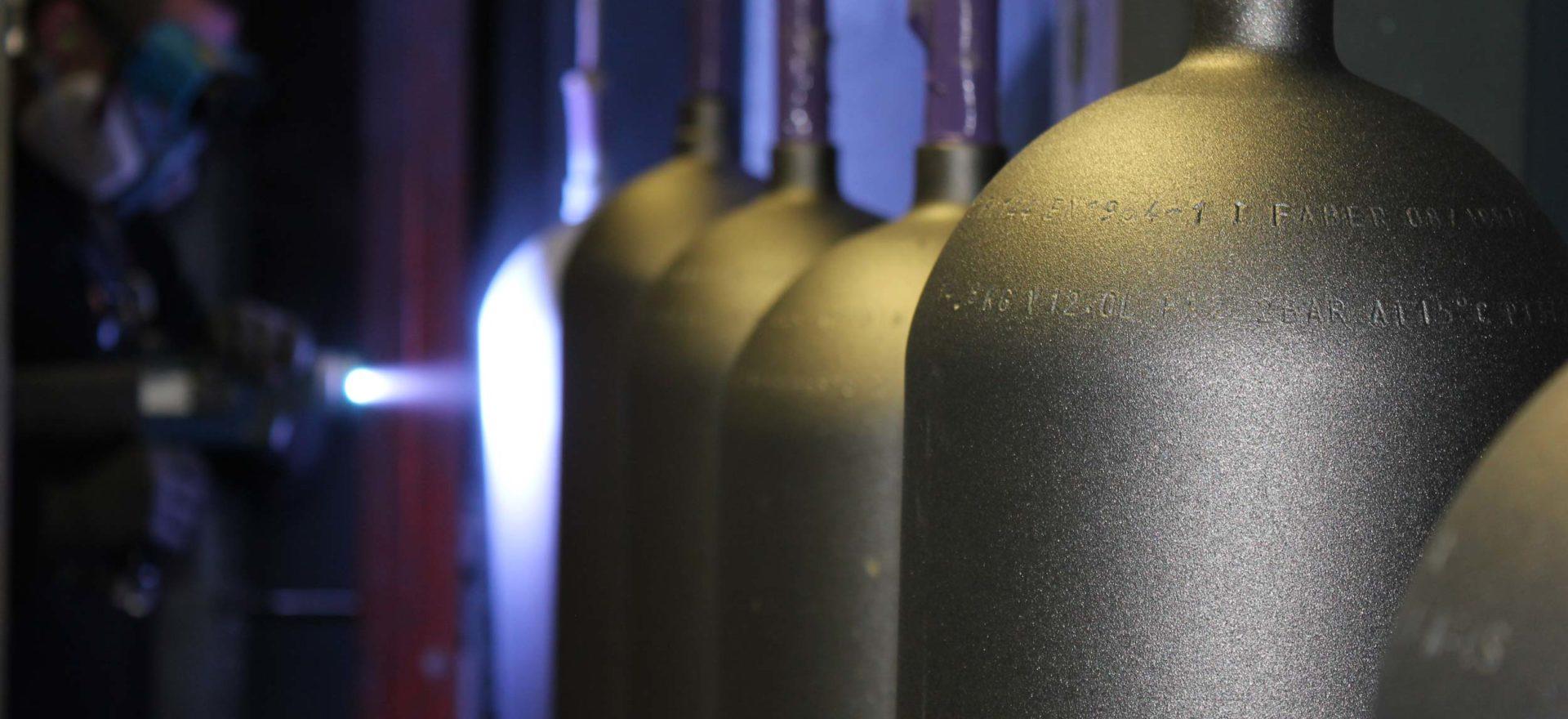Zingage bouteille de plongée 4